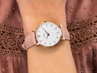 zegarek Cluse CW0101203006 różowe złoto Minuit
