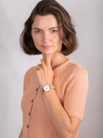damski Zegarek klasyczny Cluse Minuit CW0101203007 bransoleta - duże 4