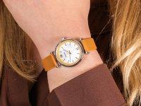 damski Zegarek klasyczny Fossil Carlie ES4835 pasek - duże 6