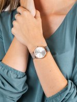damski Zegarek klasyczny Meller Denka W3RP-2SILVER bransoleta - duże 5