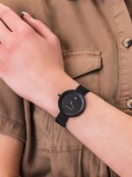 damski Zegarek klasyczny Meller Niara W5NN-2BLACK bransoleta - duże 5