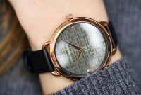 Ted Baker BKPHTF905 Hettie pasek klasyczny zegarek różowe złoto