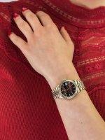 Timex TW2T87100 damski zegarek Waterbury bransoleta