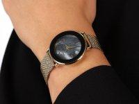 Anne Klein AK-3686BKGB zegarek fashion/modowy Bransoleta