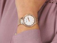 Anne Klein AK-3816MPRG zegarek klasyczny Bransoleta