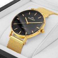 Bisset BSBF33GIBX03BX zegarek złoty klasyczny Klasyczne bransoleta