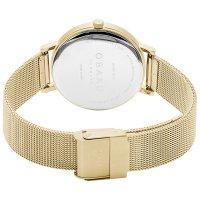 Obaku Denmark V248LXGIMG BRINK LILLE - GOLD zegarek klasyczny Slim
