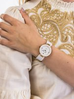 Anne Klein AK-1018RGWT damski zegarek Bransoleta bransoleta