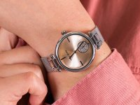 Anne Klein AK-3001LPSV zegarek klasyczny Bransoleta