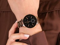 Anne Klein AK-3484BKRG zegarek klasyczny Bransoleta