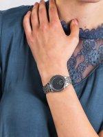 Anne Klein AK-3507GYSV damski zegarek Bransoleta bransoleta