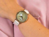 Anne Klein AK-2790CMWT zegarek klasyczny Pasek