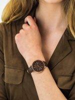 Anne Klein AK-3252RGBN damski zegarek Pasek pasek