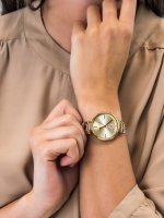 Anne Klein AK-3380CHWT damski zegarek Pasek pasek