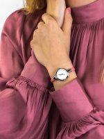 Obaku Denmark V129LCIRP damski zegarek Slim pasek