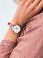 Obaku Denmark V149LCIRP damski zegarek Slim pasek