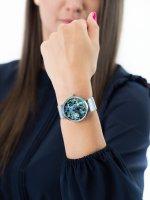 Pierre Ricaud P22096.511AQ damski zegarek Bransoleta bransoleta