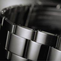 Davosa 161.525.60S zegarek srebrny klasyczny Diving bransoleta