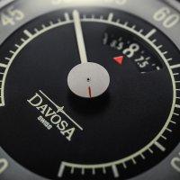 Davosa 161.587.25 Pilot retro zegarek srebrny