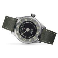 Davosa 161.587.25 zegarek męski retro Pilot pasek