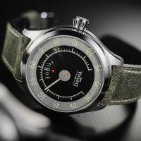 Davosa 161.587.25 zegarek srebrny retro Pilot pasek