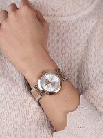 DKNY NY2335 zegarek różowe złoto fashion/modowy Bransoleta bransoleta