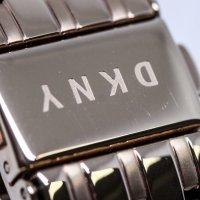DKNY NY2504-POWYSTAWOWY damski zegarek Bransoleta bransoleta