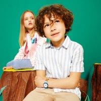 Flik Flak FPNP056 dla dzieci zegarek Power Time pasek