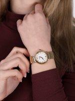 Doxa 510.35.056.30 damski zegarek Blue Stone bransoleta