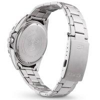 Edifice EFV-130D-2AVUEF zegarek srebrny klasyczny Edifice bransoleta