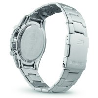 Edifice EQB-1000D-1AER Super Slim Sapphire Bluetooth Tough Solar EDIFICE Premium sportowy smartwatch srebrny