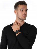 Emporio Armani AR2461 zegarek czarny klasyczny Sports and Fashion pasek