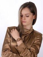 Esprit ES106552006 zegarek różowe złoto fashion/modowy Damskie bransoleta