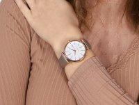 Esprit ES108542001 zegarek różowe złoto klasyczny Damskie pasek