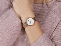 Esprit ES109032003 zegarek różowe złoto fashion/modowy Damskie bransoleta