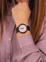 fashion/modowy Zegarek czarny  Bransoleta 45L164 - duże 5
