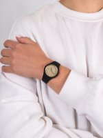 fashion/modowy Zegarek czarny  Ice-Glitter ICE.001348 ICE glitter black gold rozm. S - duże 5