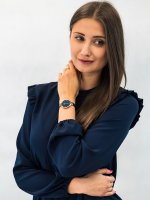 fashion/modowy Zegarek niebieski Obaku Denmark Bransoleta V173LXVLML SKY - OCEAN - duże 4