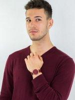 fashion/modowy Zegarek różowe złoto Bering Classic 13338-CHARITY Limited Edition CHARITY - duże 4