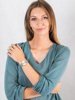 fashion/modowy Zegarek różowe złoto Cluse Minuit CW0101203004 Mesh Rose Gold/Silver - duże 4