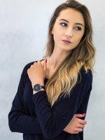 fashion/modowy Zegarek różowe złoto Obaku Denmark Bransoleta V185LXVLML SAND - OCEAN - duże 4