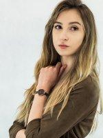 fashion/modowy Zegarek różowe złoto Obaku Denmark Bransoleta V195LXVNMN VAND - WALNUT - duże 4