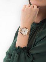 fashion/modowy Zegarek różowe złoto Obaku Denmark Bransoleta V217LXVWMV FIN - ROSE - duże 5
