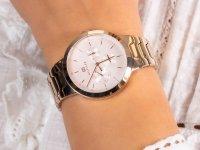 Tommy Hilfiger 1782076 zegarek różowe złoto fashion/modowy Damskie bransoleta