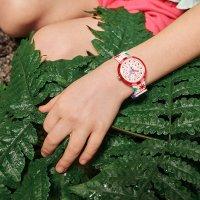 Flik Flak FPNP081 zegarek różowy klasyczny Power Time pasek