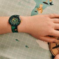 Flik Flak FPSP049 zegarek niebieski klasyczny Power Time pasek