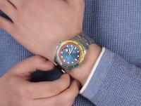 Fossil FS5765 zegarek srebrny klasyczny FB-01 bransoleta