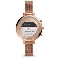 Fossil FTW7039 zegarek różowe złoto sportowy Hybrid Smartwatch bransoleta