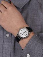 Frederique Constant FC-710MC4H6 zegarek srebrny klasyczny Manufacture pasek