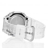 G-Shock GA-2100SKE-7AER G-Shock sportowy zegarek bezbarwny